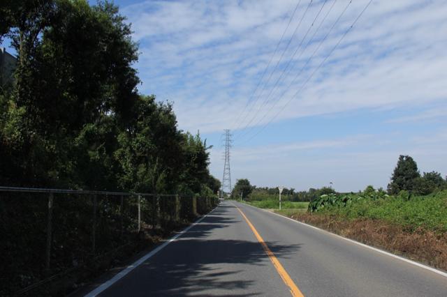 高速道路沿い