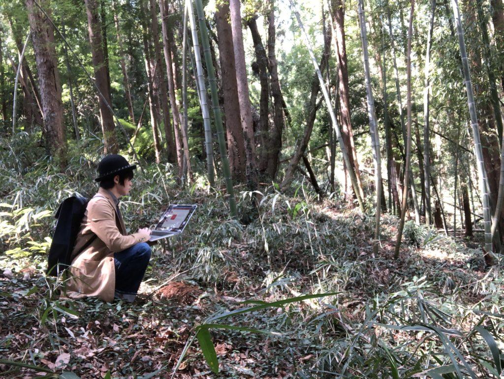 森の中ノマド1