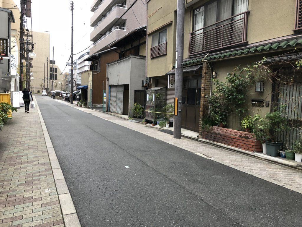 京都駅周辺市街地