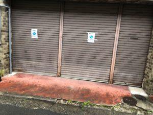 京都駅周辺裏路地