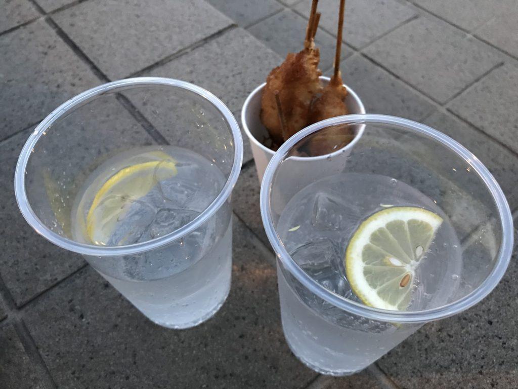 ▲スタンダードなレモンサワー