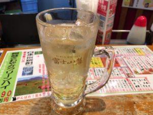 ▲最終日は立ち飲みでハイボール飲んで帰った。レモンサワーちゃうんかい!
