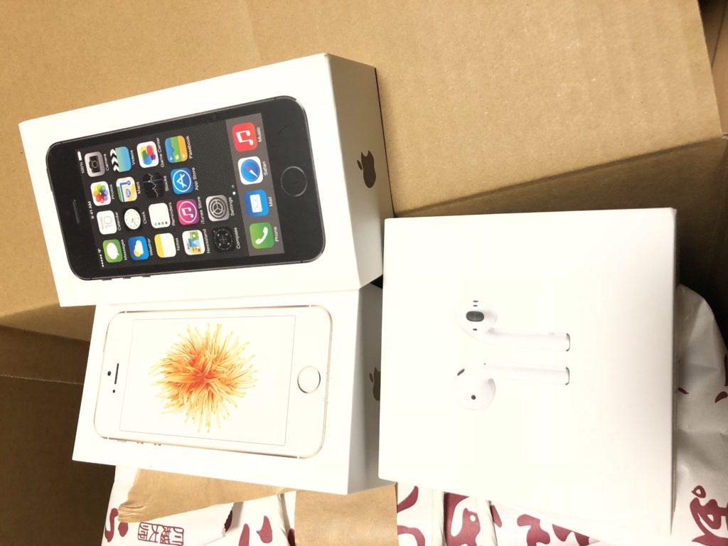 Apple製品3種