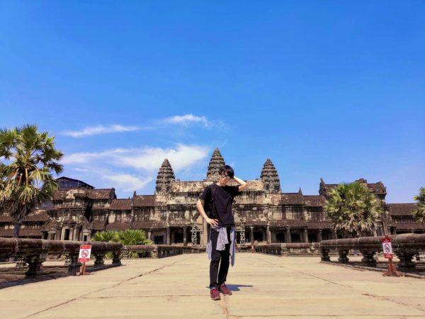 じきるう in カンボジア