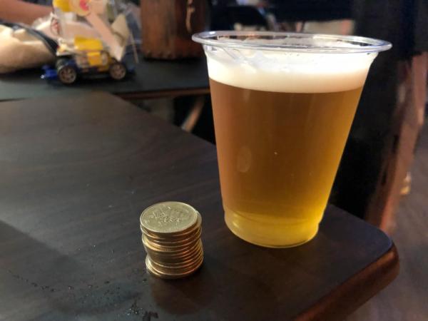 ビールとお金