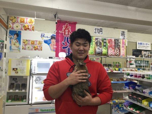 花太郎とウサギ