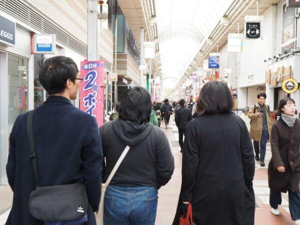 武蔵小山商店街「パルム」