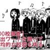 【全国300校調査】校歌の頻出ワードを調べて日本一平均的な校歌を作る
